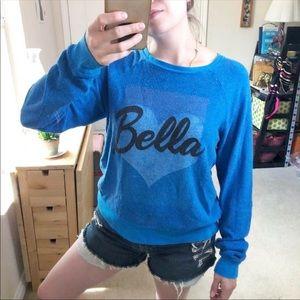 Wildfox Bella Baggy Pullover Sweatshirt Slouchy S